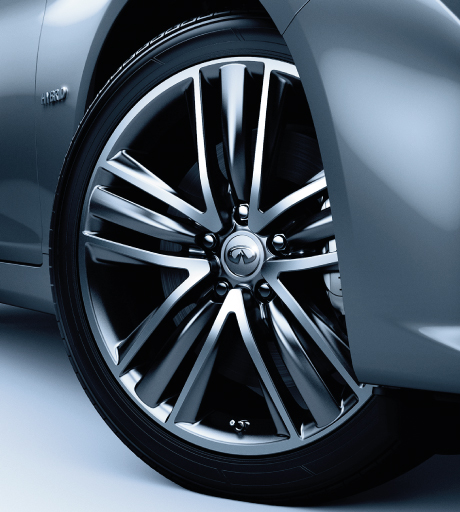 Q50 Wheel Close Up