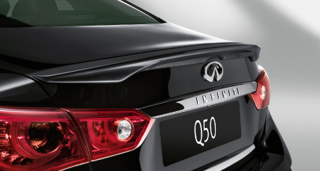 Q50 Boot Close Up