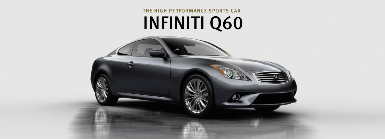 Infiniti Q60 New Page Banner