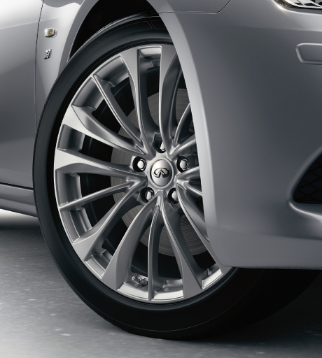 Q60 Wheel Close Up