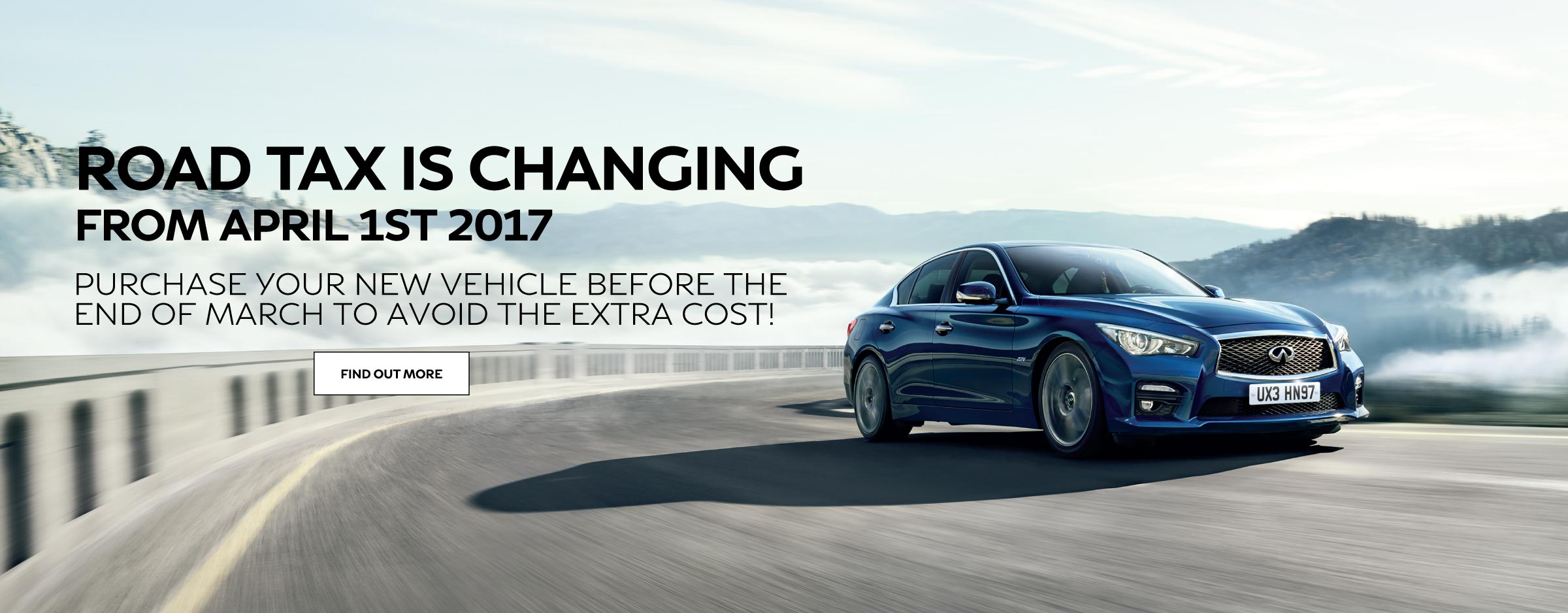 Road Tax Changes April 2017 - Infiniti Newcastle