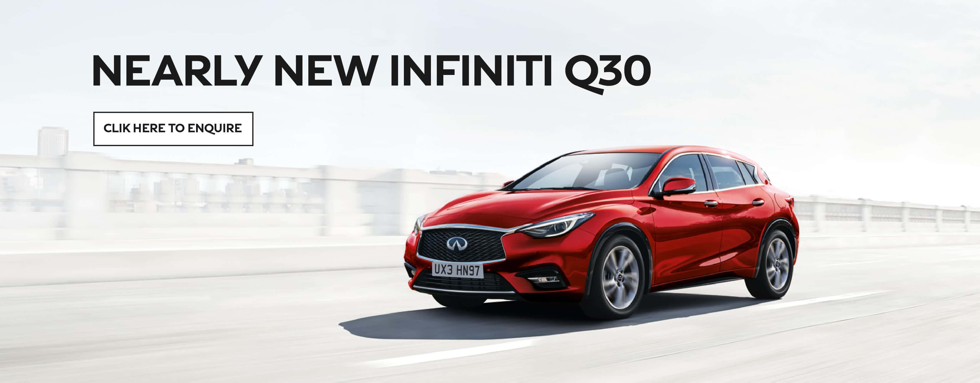Infiniti Q30 Nearly New