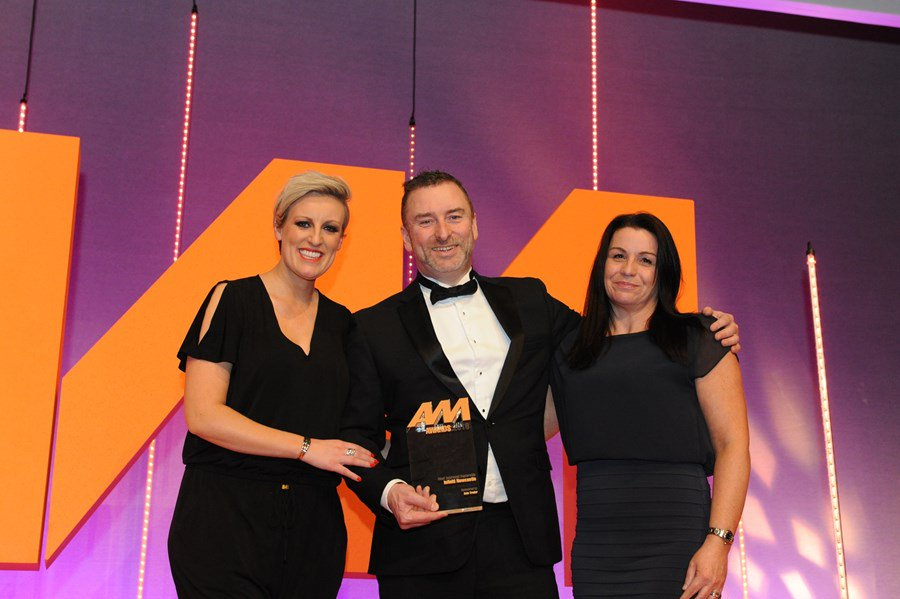 Infiniti Centre Newcastle Wins at AM Awards 2018