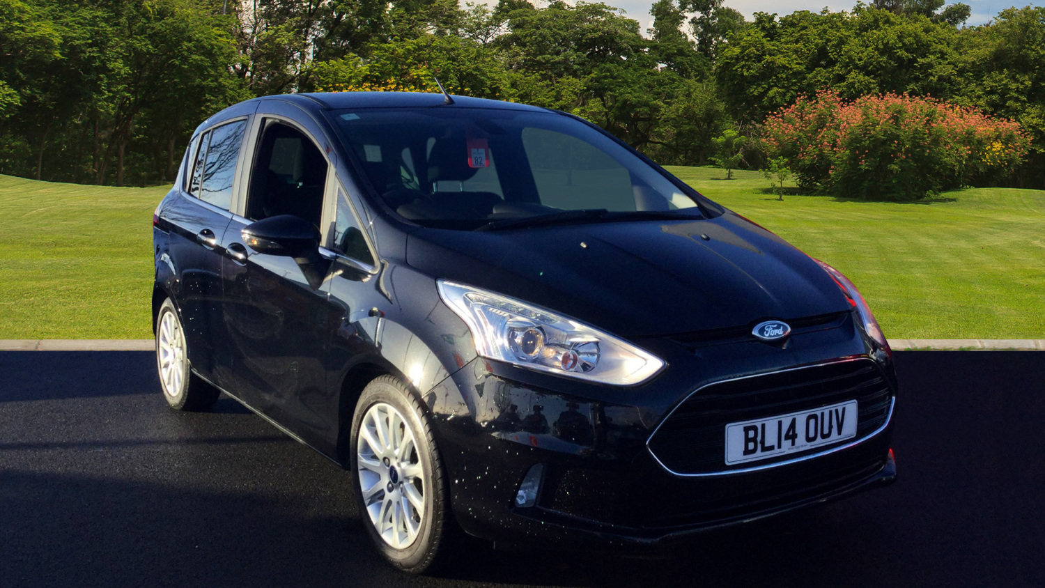 used ford b max 1 6 titanium 5dr powershift petrol hatchback for sale newcastle infiniti. Black Bedroom Furniture Sets. Home Design Ideas