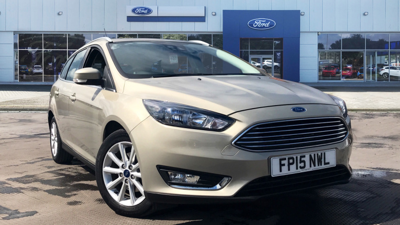Ford Focus 1.6 125 Titanium Navigation 5Dr Powershift Petrol Estate