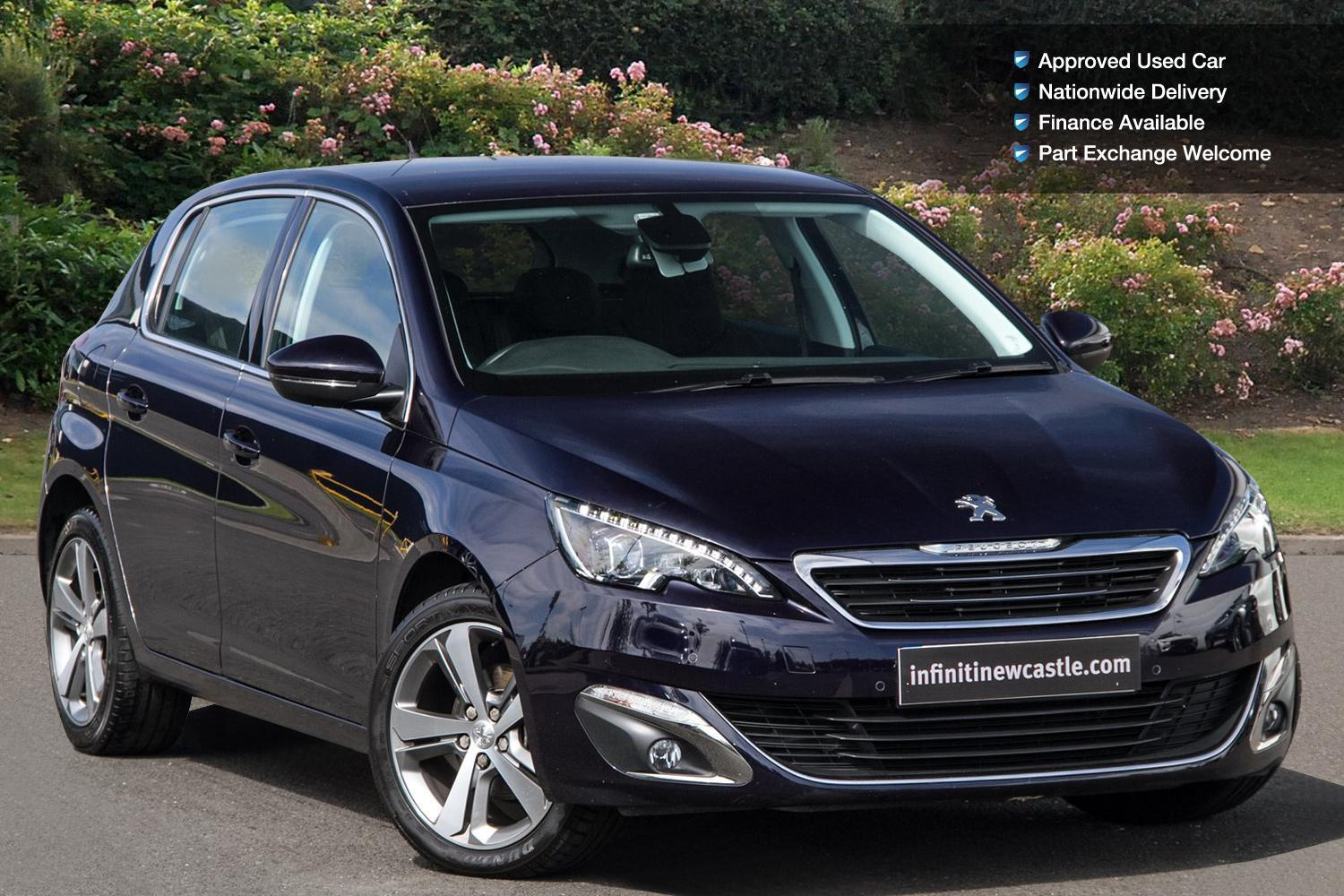 used peugeot 308 1 2 puretech 130 allure 5dr eat6 petrol hatchback for sale newcastle infiniti. Black Bedroom Furniture Sets. Home Design Ideas