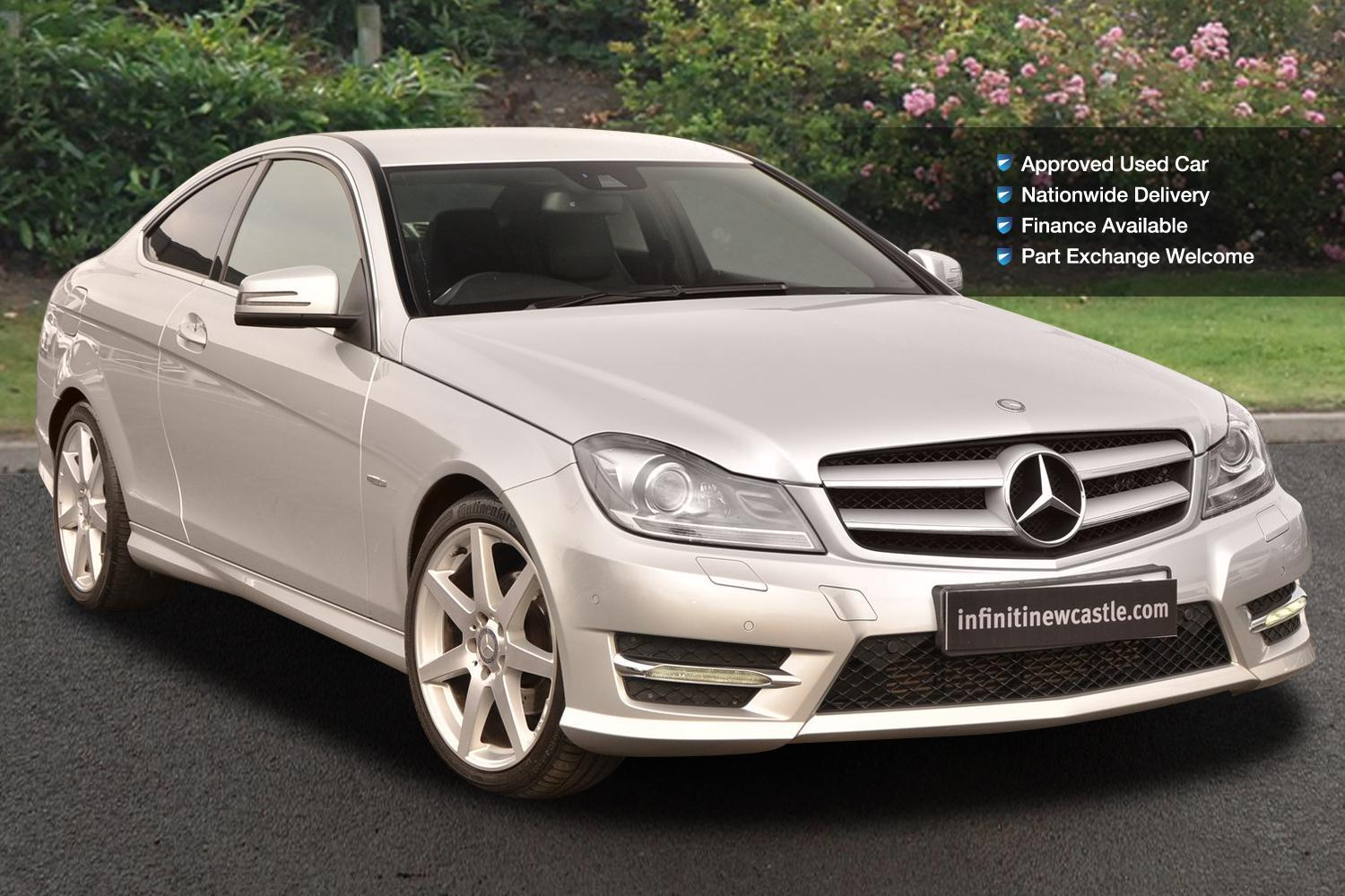 Used mercedes benz c class c250 blueefficiency amg sport for Mercedes benz c250 coupe for sale
