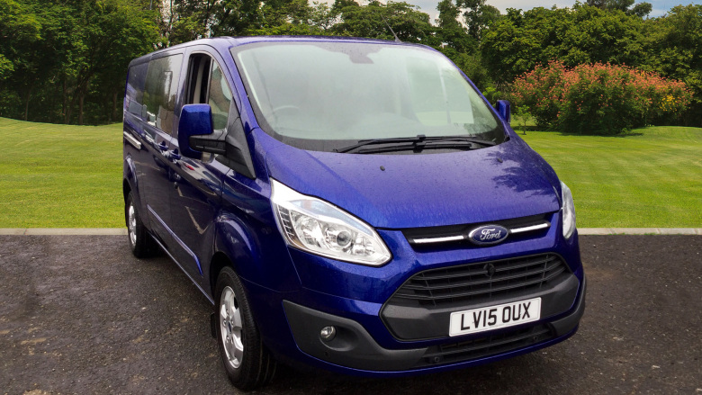 Ford Transit Custom 290 Lwb Diesel Fwd 2.2 Tdci 155Ps Low Roof D/Cab Limited Van