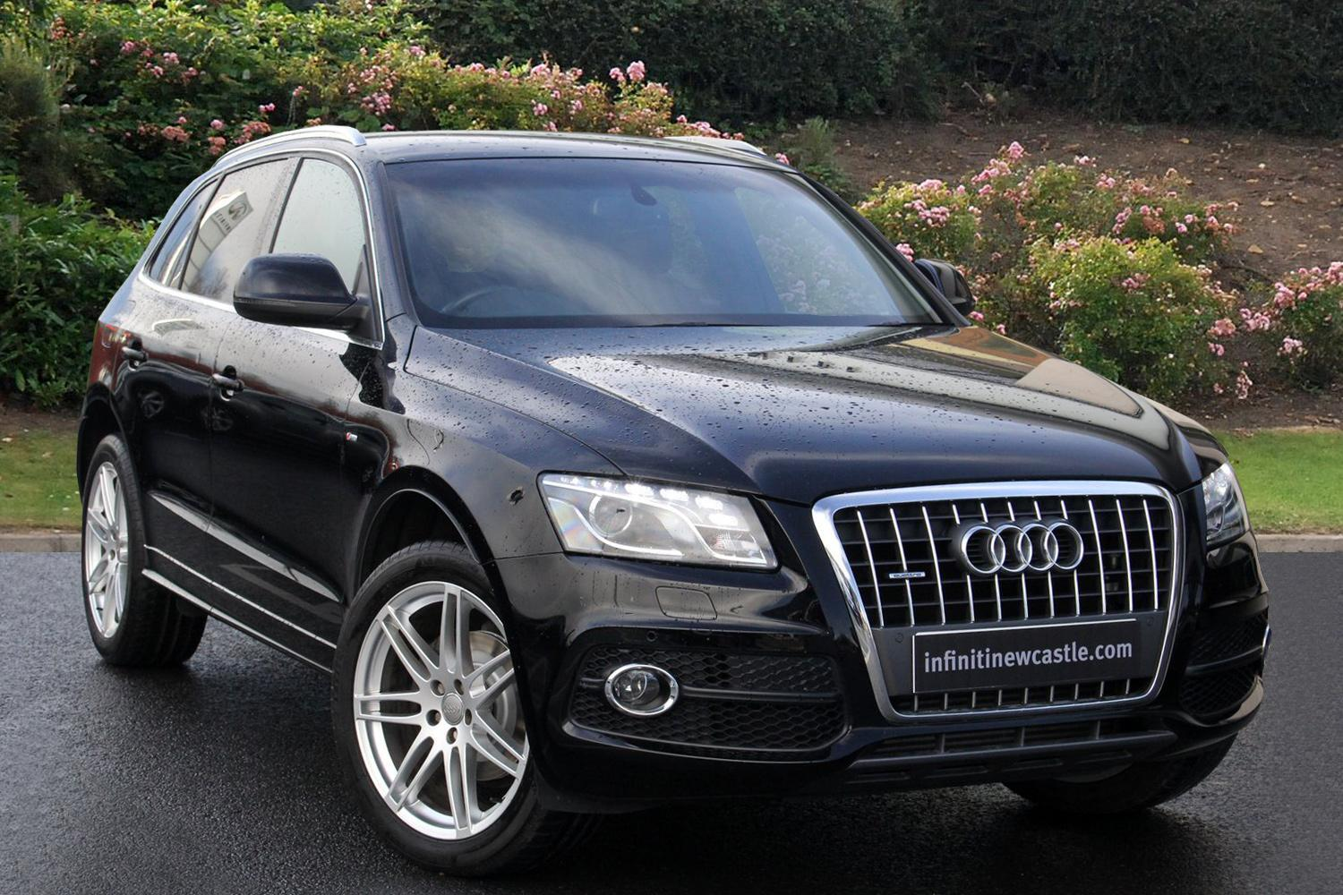 used audi q5 2 0 tdi 143 quattro s line 5dr start stop diesel estate for sale newcastle. Black Bedroom Furniture Sets. Home Design Ideas