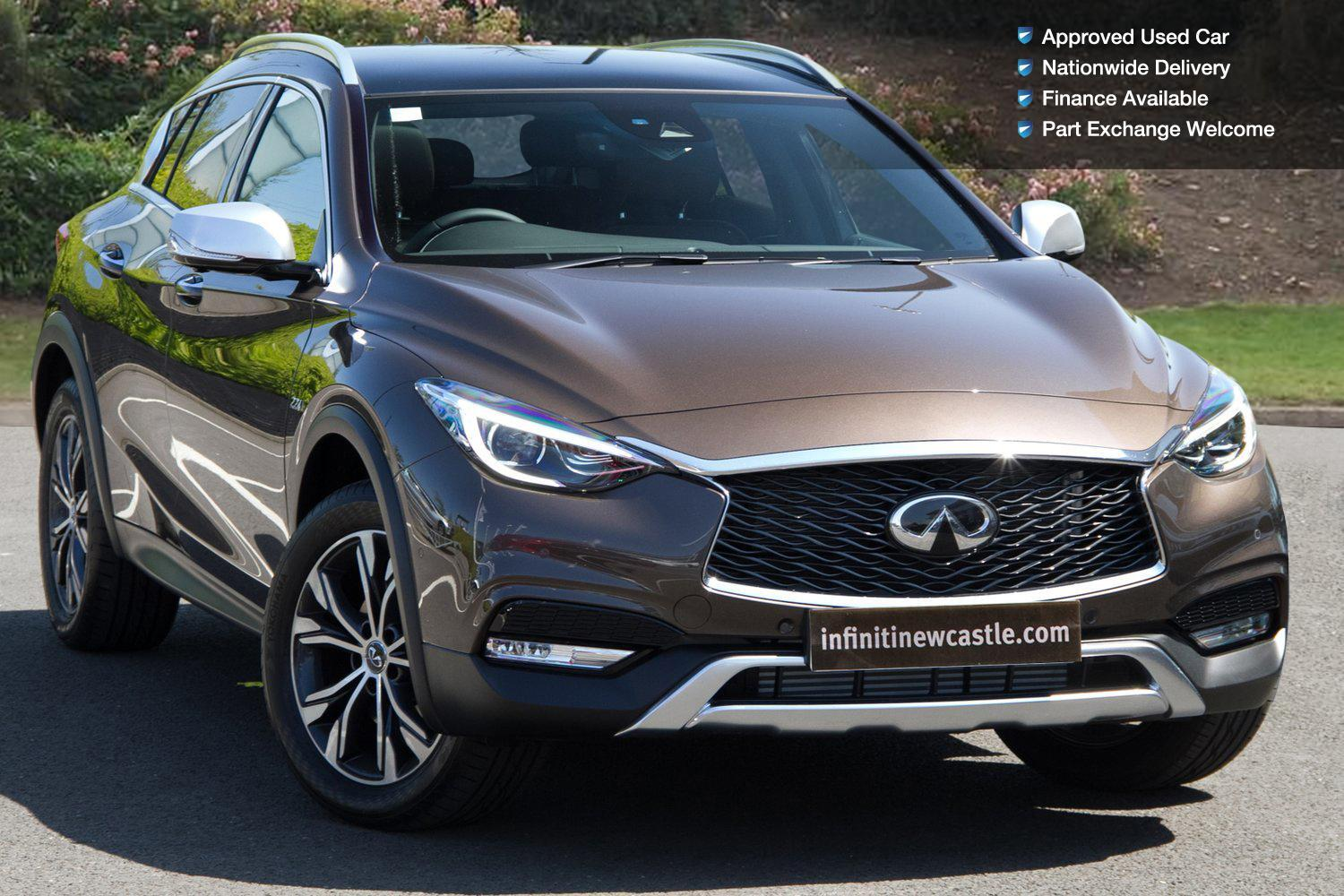 used infiniti qx30 2 2d premium tech 5dr dct diesel estate for sale newcastle infiniti