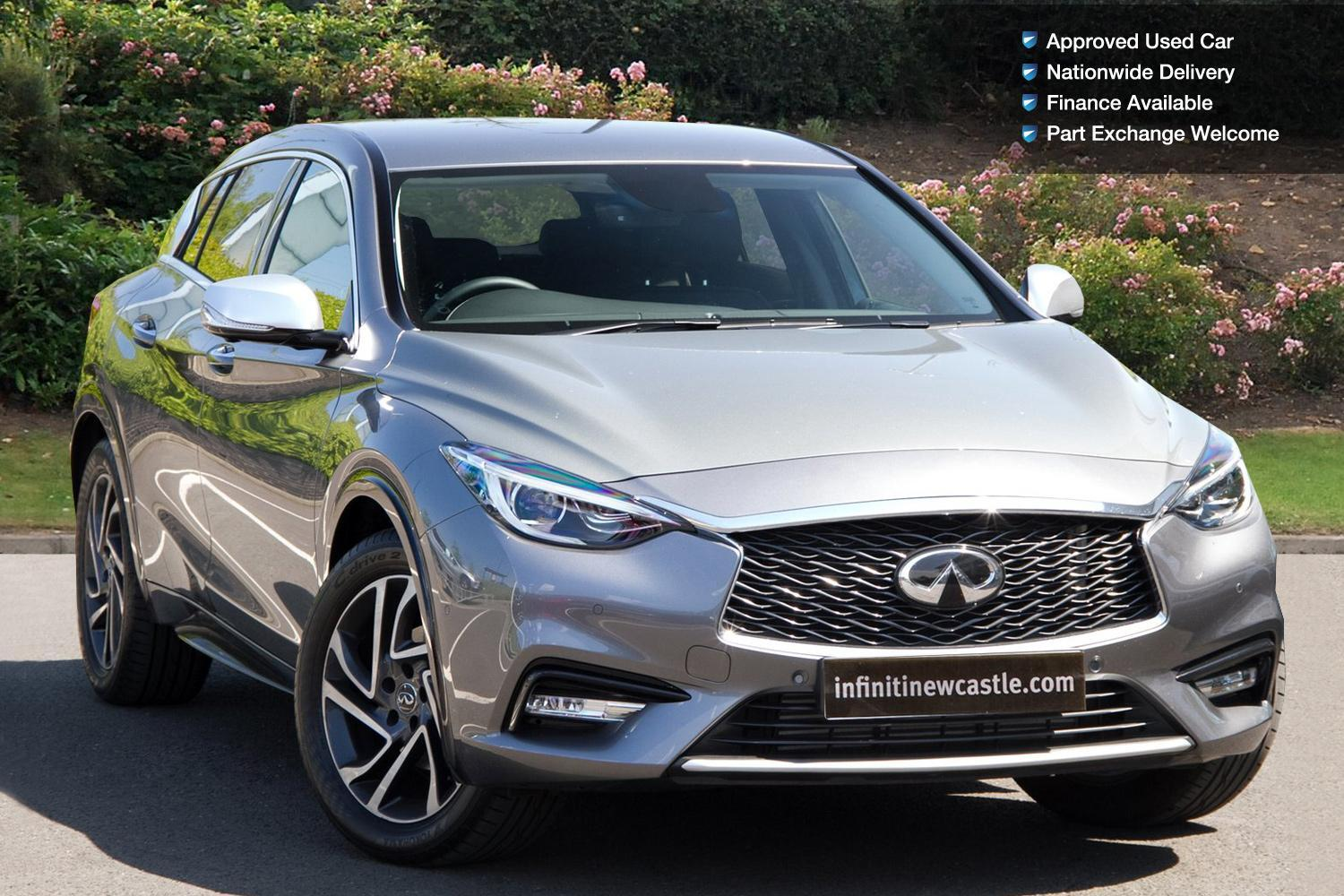 used infiniti q30 1 6t premium 5dr in touch nav petrol hatchback for sale newcastle infiniti. Black Bedroom Furniture Sets. Home Design Ideas
