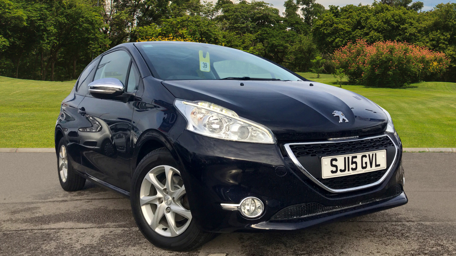 used peugeot 208 1 4 hdi style 3dr diesel hatchback for sale newcastle infiniti. Black Bedroom Furniture Sets. Home Design Ideas