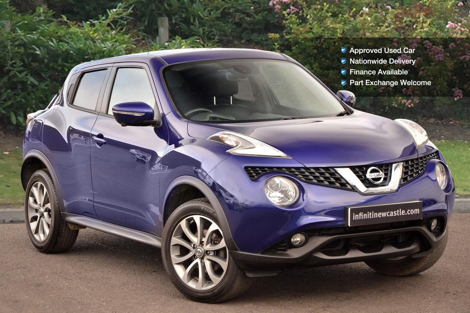 used nissan juke 1 6 tekna 5dr xtronic petrol hatchback for sale newcastle infiniti. Black Bedroom Furniture Sets. Home Design Ideas