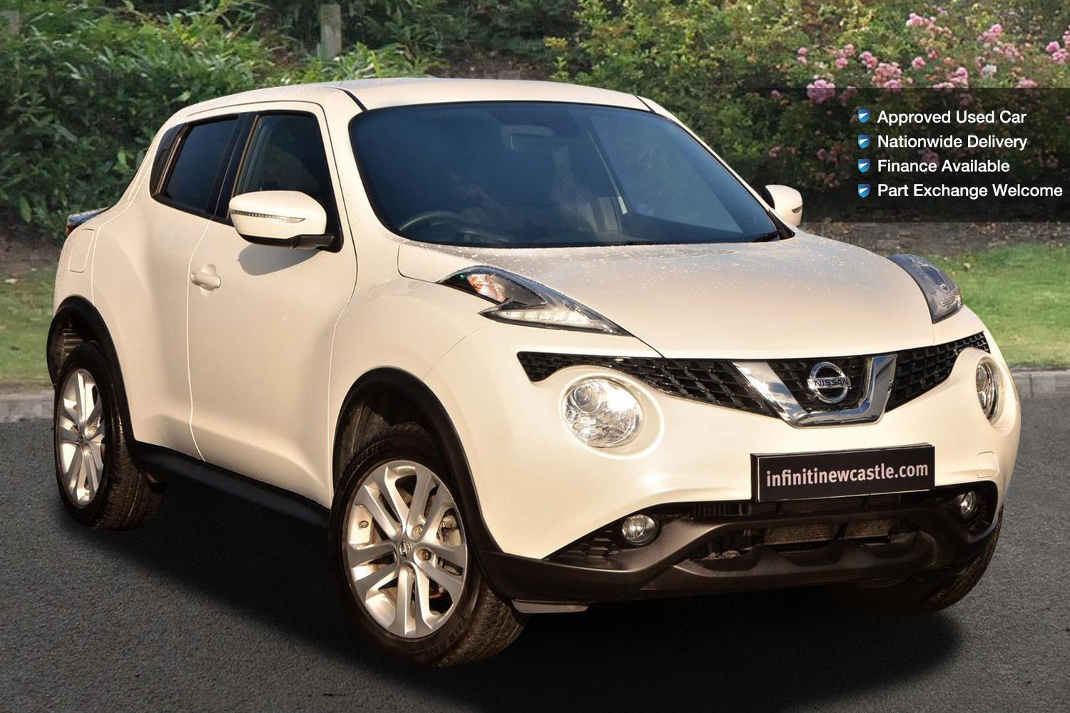 used nissan juke 1 5 dci acenta premium 5dr diesel hatchback for sale newcastle infiniti. Black Bedroom Furniture Sets. Home Design Ideas