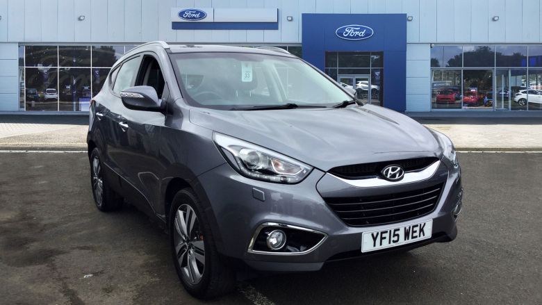 Hyundai ix35 2.0 Crdi Premium 5Dr [leather] Diesel Estate