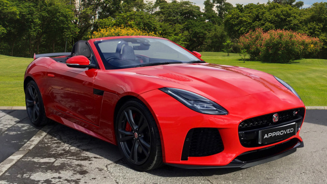 Jaguar F-Type 5.0 Supercharged V8 Svr 2Dr Auto Awd Petrol Convertible