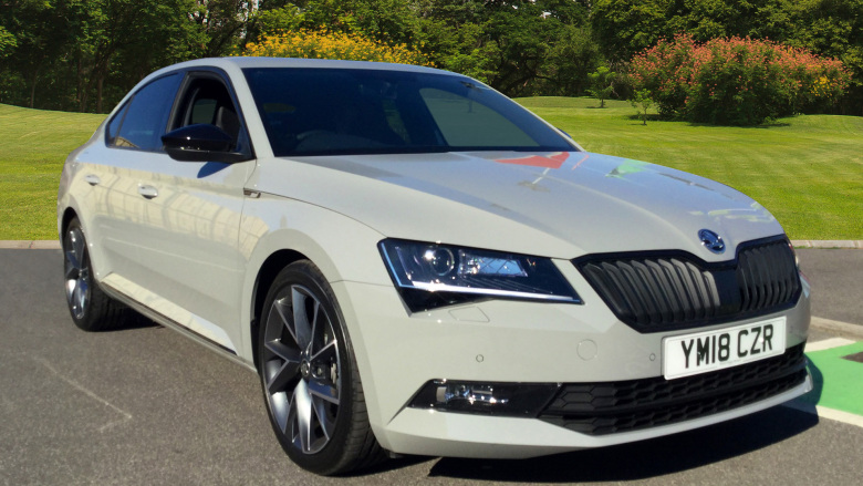 SKODA Superb 2.0 Tdi Cr Sport Line 5Dr Dsg [7 Speed] Diesel Hatchback