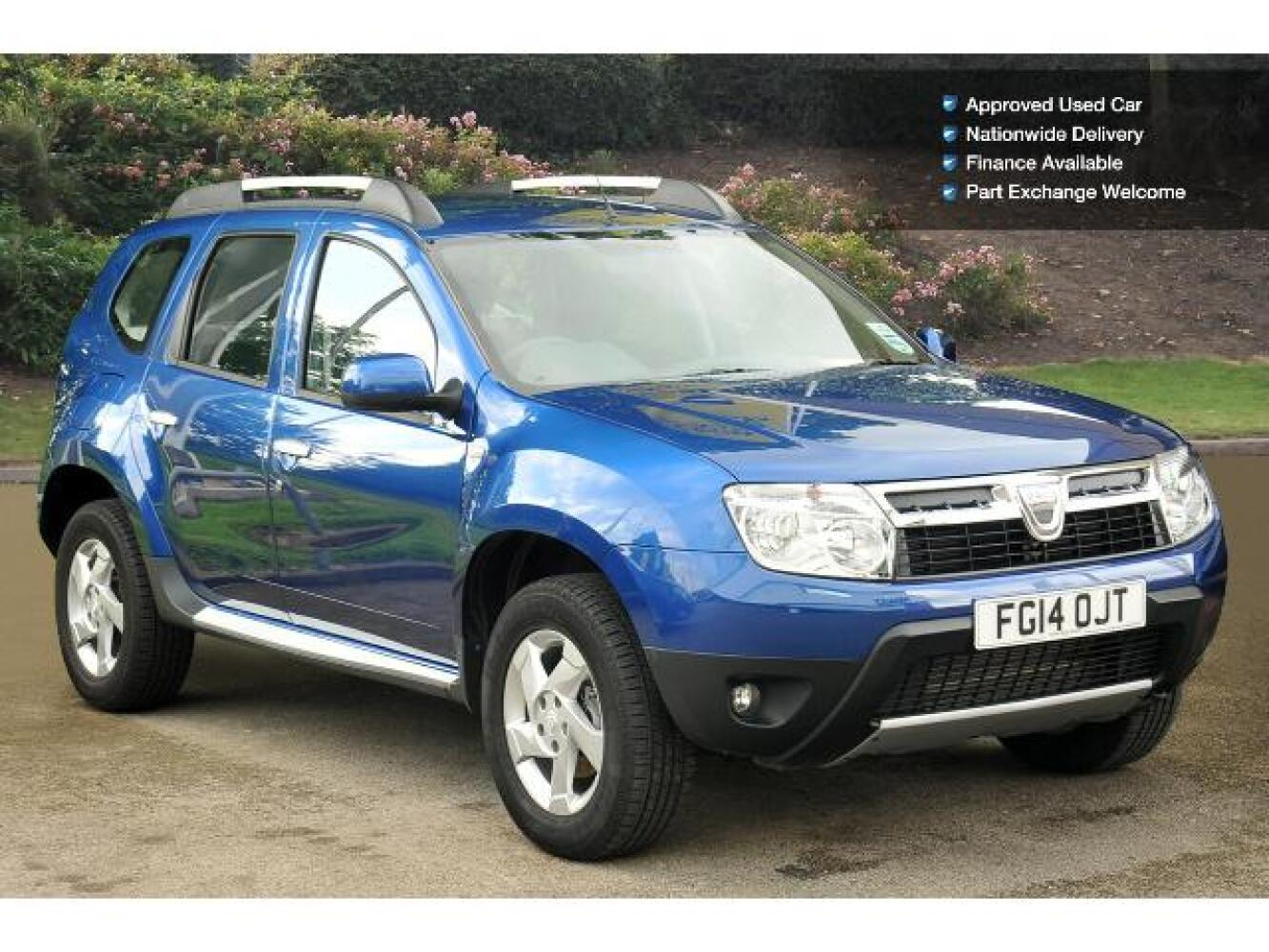 used dacia duster 1 5 dci 110 laureate 5dr 4x4 diesel. Black Bedroom Furniture Sets. Home Design Ideas