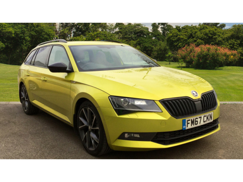 SKODA Superb 2.0 Tdi Cr 190 Sport Line 5Dr Dsg Diesel Estate