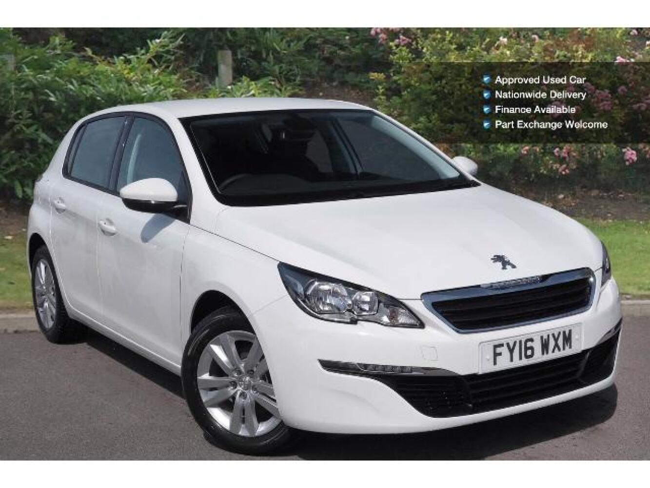 used peugeot 308 1 6 bluehdi 120 active 5dr diesel hatchback for sale newcastle infiniti. Black Bedroom Furniture Sets. Home Design Ideas