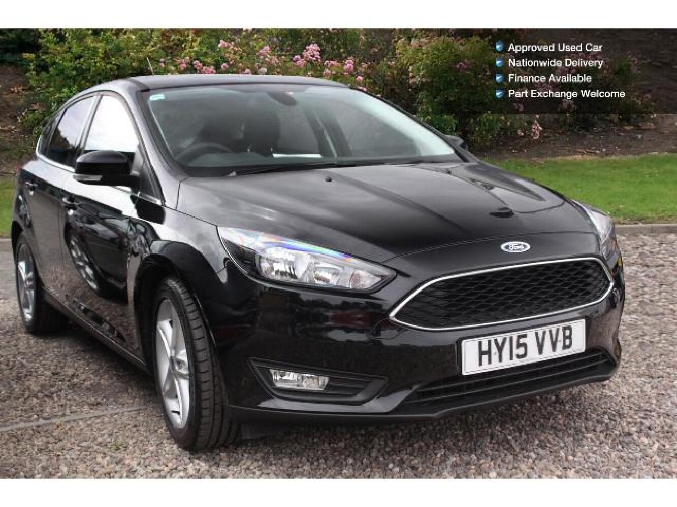 used ford focus 1 0 ecoboost 125 zetec 5dr petrol hatchback for sale newcastle infiniti. Black Bedroom Furniture Sets. Home Design Ideas