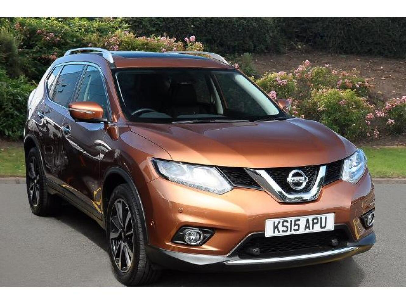 used nissan x trail 1 6 dci tekna 5dr xtronic 7 seat. Black Bedroom Furniture Sets. Home Design Ideas