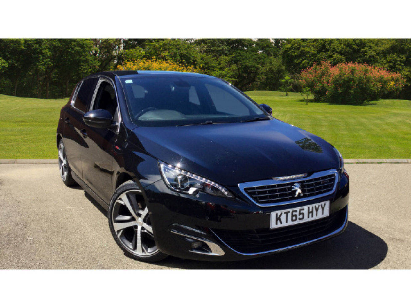 used peugeot 308 1 2 puretech 130 gt line 5dr eat6 petrol. Black Bedroom Furniture Sets. Home Design Ideas