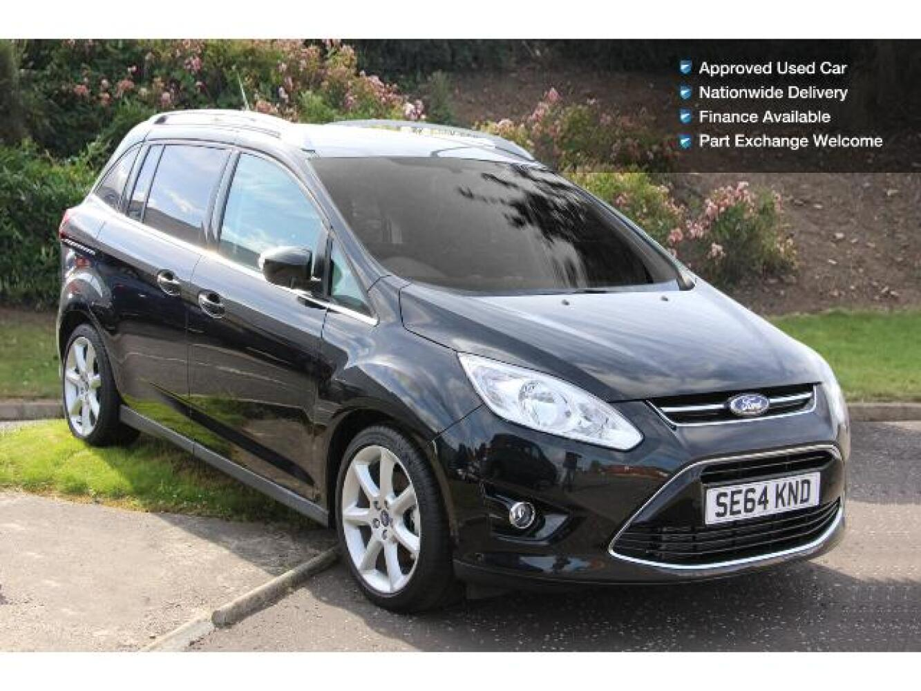 used ford grand c max 1 6 tdci titanium 5dr diesel estate for sale newcastle infiniti. Black Bedroom Furniture Sets. Home Design Ideas